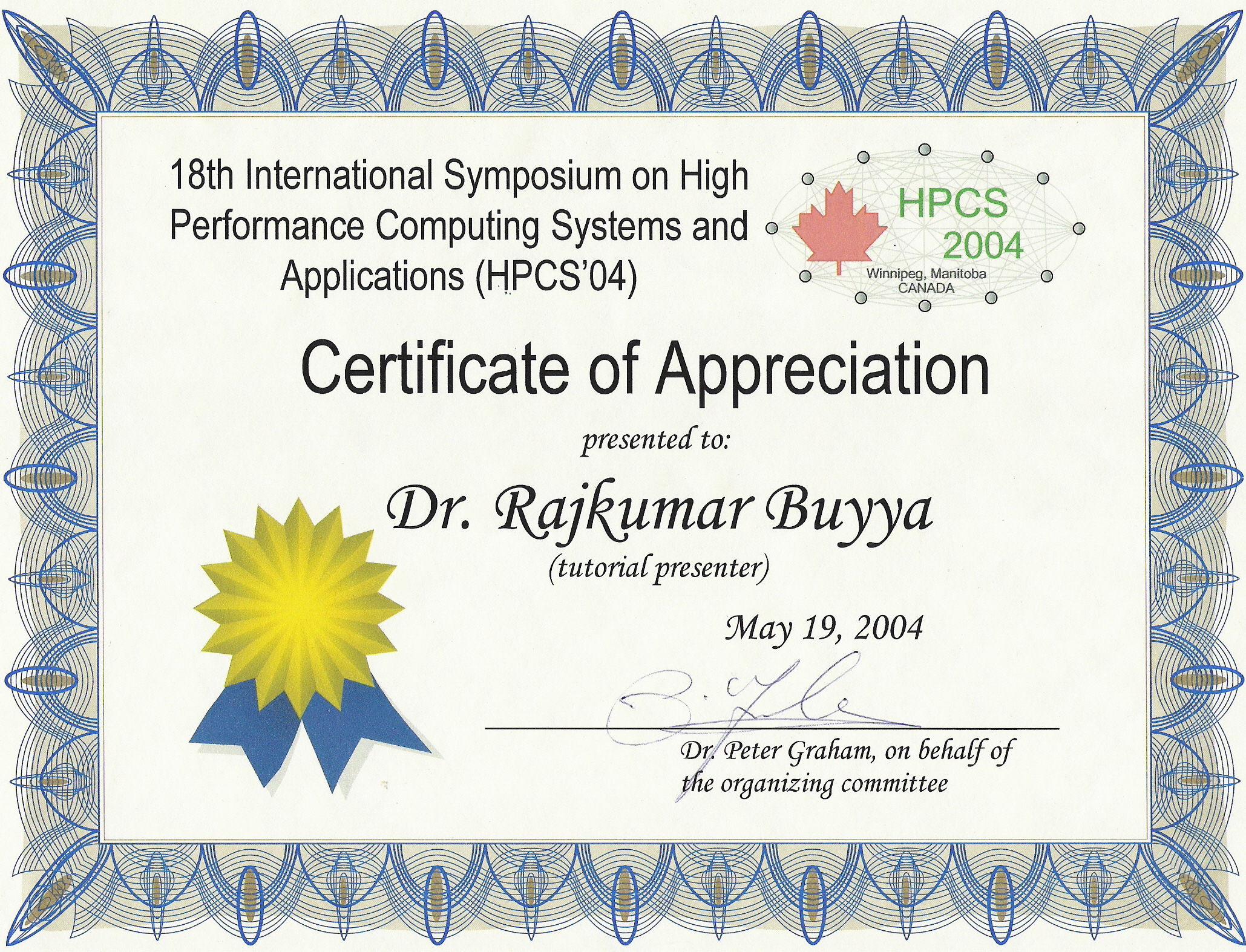 Sonidolatinoradio  Appreciation Certificates Wording