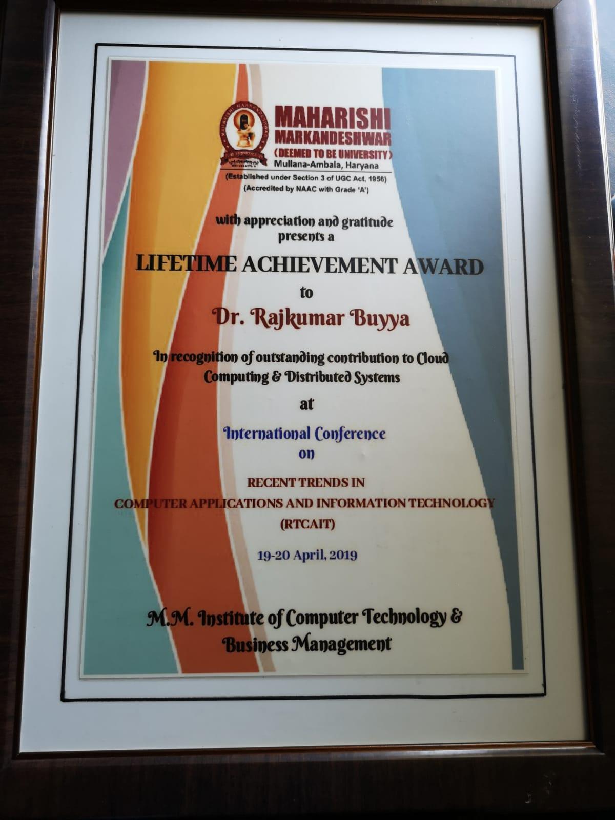 Professor Dr  Rajkumar Buyya's Home Page